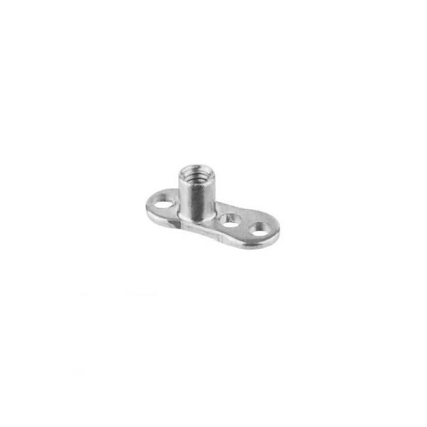 Micro-Dermal Anchor Piercing Schmuck Titan Implantat | 1,2 mm Gewinde